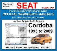 Seat cordoba Service Repair Workshop Manual Download